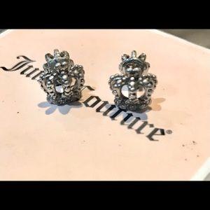 Juicy Couture vintage earrings petite regal crowns